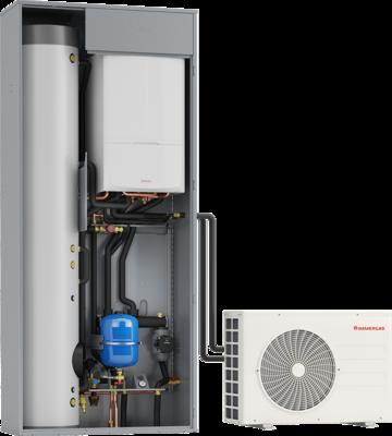 Sistemi ibridi compatti immergas for Asciugatrici condensazione o pompa di calore