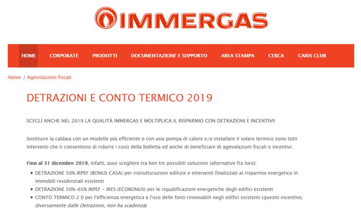 032dd9447734 Immergas mette a disposizione, da diversi anni, un supporto tecnico per  l'applicazione delle normative fiscali e per la scelta dei prodotti e  sistemi più ...