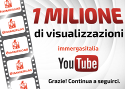 IMMERGAS: 1 MILLION VIEWS ON YOUTUBE