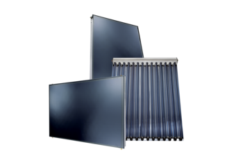 Solar collectors suitable