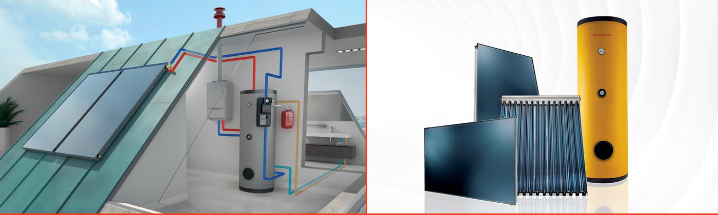 Solare termico immergas for Schema impianto solare termico dwg