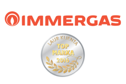 THE CONSUMER'S LAUREL FOR IMMERGAS POLSKA